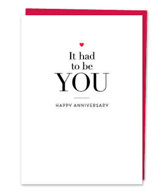 Design with Heart Studio - Greeting Cards - It Had To Be You