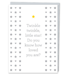 "Design with Heart Studio - Greeting Cards ""Twinkle, twinkle, little star!"""