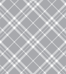 Design with Heart Studio - Giftwrap - Silver Plaid Giftwrap