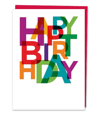 "Design with Heart Studio - Greeting Cards - ""Happy Birthday"""