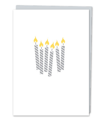 Design with Heart Studio - Greeting Cards - Birthday Candles