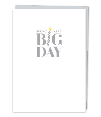 """Design with Heart Studio - Greeting Cards - """"Enjoy your Big Day"""""""