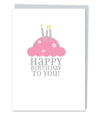 "Design with Heart Studio - Greeting Cards - ""Happy Birthday To You!"""