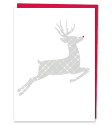 Design with Heart Studio - Holiday - Plaid Holiday Reindeer