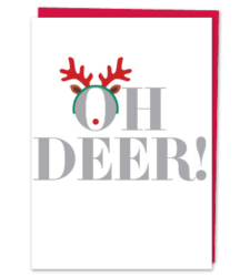 "Design with Heart Studio - Holiday - ""Oh deer!"""