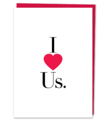 Design with Heart Studio - Greeting Cards I LOVE US