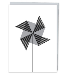 Design with Heart Studio - Greeting Cards Oxford Street Pinwheel