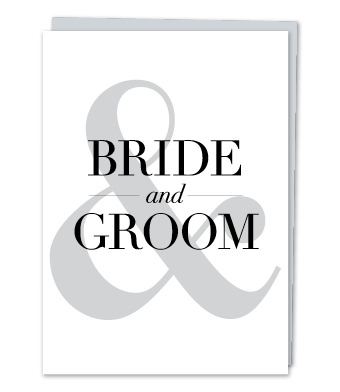 Design with Heart Studio - Greeting Cards - BRIDE & GROOM