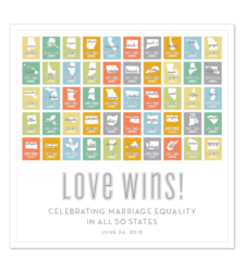 Design with Heart Studio - Art Prints Marriage Equality Poster