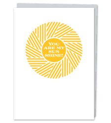 "Design with Heart Studio - Greeting Cards ""You Are My Sunshine!"""