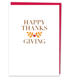 "Design with Heart Studio - New - ""Happy Thanksgiving"""