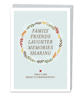 Design with Heart Studio - Greeting Cards - The Heart of Thanksgiving