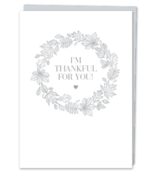 "Design with Heart Studio - New - ""I'm Thankful for You!"""