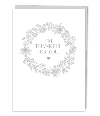 """Design with Heart Studio - Greeting Cards - """"I'm Thankful for You!"""""""