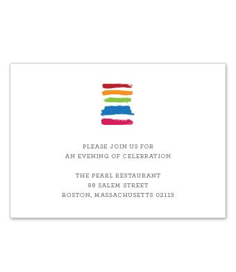 Design with Heart Studio - Boxed Sets - Rainbow Brush Wedding Suite