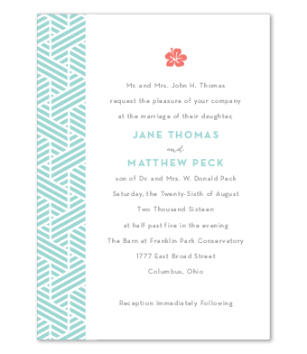 Design with Heart Studio - Boxed Sets - Tropical Blue Wedding Suite