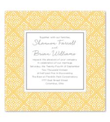 Design with Heart Studio - Wedding Suites - Marigold Lattice Wedding Suite