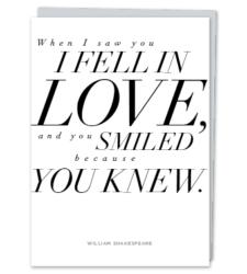 Design with Heart Studio - New - William Shakespeare Quote