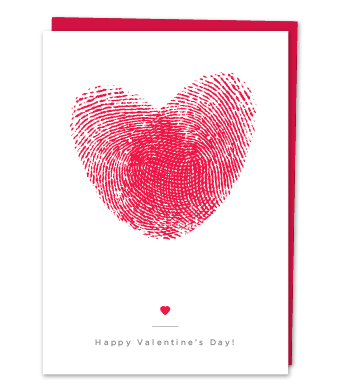 Design with Heart Studio - Greeting Cards - Heart Thumbprints