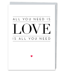 """Design with Heart Studio - New - """"All you need is Love."""""""