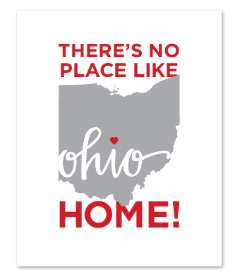 "Design with Heart Studio - Art Prints - ""There's No Place Like Home"""