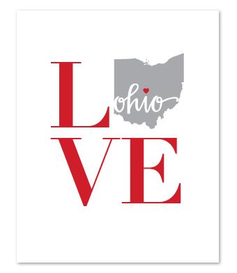 Design with Heart Studio - Art Prints - LOVE