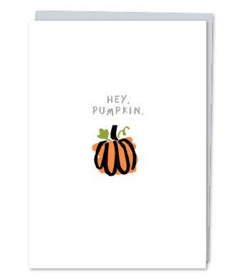 Design with Heart Studio - Greeting Cards - Hey, Pumpkin