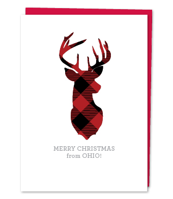 Design with Heart Studio - Holiday - Merry Christmas from Ohio!