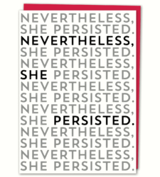 Design with Heart Studio - Nevertheless, She Persisted