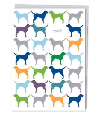 Design with Heart Studio - Greeting Cards - Woof