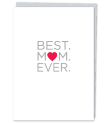 Design with Heart Studio - New - Best. Mom. Ever.