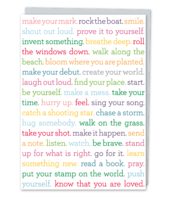 "Design with Heart Studio - Greeting Cards - ""create your world"""