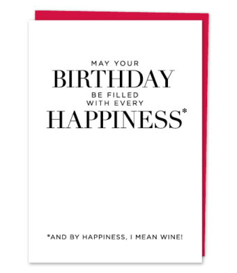 "Design with Heart Studio - Greeting Cards - ""May Your Birthday Be Filled With Every Happiness"""