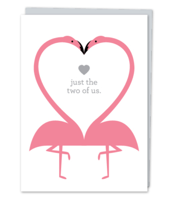 "Design with Heart Studio - Greeting Cards - ""just the two of us"""
