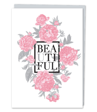 Design with Heart Studio - Greeting Cards - BEAUTIFUL