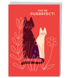 Design with Heart Studio - New - You're Purrrfect!