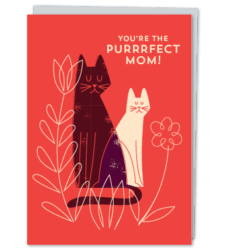 Design with Heart Studio - New - You're The Purrrfect Mom!