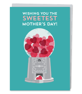 Design with Heart Studio - Greeting Cards - Wishing You The Sweetest Mother's Day!