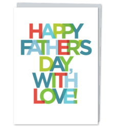 Design with Heart Studio - New - Happy Father's Day, With Love!