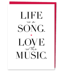 Design with Heart Studio - New - Life Is A Song