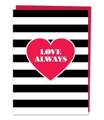 "Design with Heart Studio - Greeting Cards - ""Love Always"""