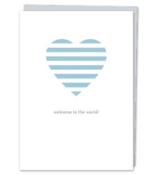 "Design with Heart Studio - ""Welcome to the world!"""