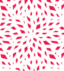 Design with Heart Studio - Holiday - Modern Poinsettia Giftwrap