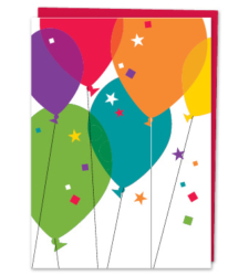 Design with Heart Studio - New - Birthday Balloons (With Verse)
