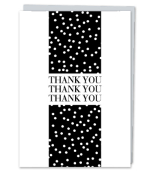 "Design with Heart Studio - Greeting Cards ""Thank You. Thank You. Thank You"""
