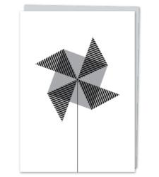 Design with Heart Studio - Greeting Cards Oxford Street Pinwheel