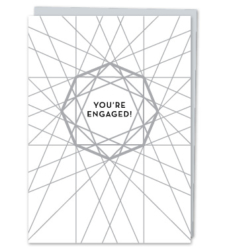 """Design with Heart Studio - Greeting Cards """"You're Engaged!"""""""