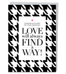 """Design with Heart Studio - Greeting Cards """"Love will always find a way"""""""