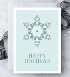 "Design with Heart Studio - Holiday - ""Happy Holidays"""