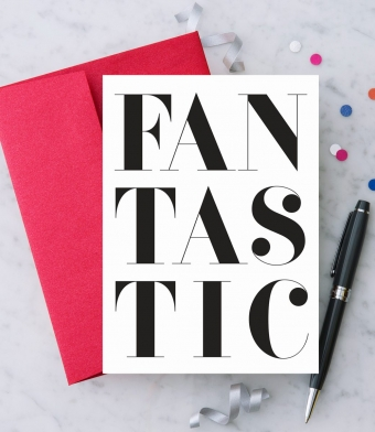 """Design with Heart Studio - Greeting Cards - """"Fantastic"""""""